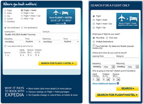 Homepage Travel Search Re-skin (Expedia) thumbnail image